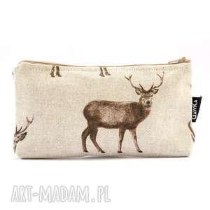 pod choinkę prezent, w jelenie, jeleń, rogi, saszetka, etui, kosmetyczka