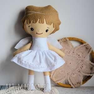 hand made lalki aniołek dla basi - zamówienie specjalne