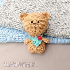 misiek max - miś, zabawka, przytulanka, bawełniany, prezent, dziecko
