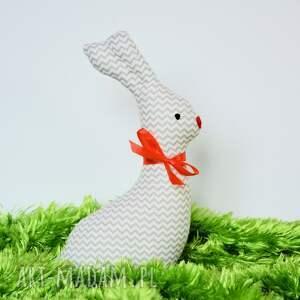 Zajączek wielanocny - Kicuś 20cm, zając, królik, wielkanoc, maskotka, przytulanka