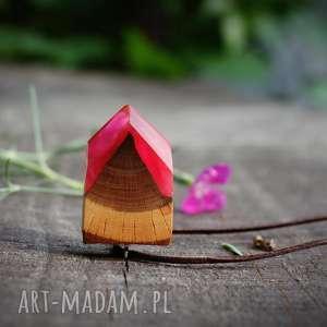 ręcznie robione wisiorki wisior rosy arrow