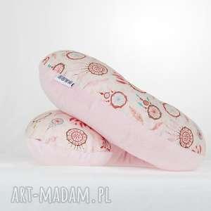 Prezent Poduszka Podróżna Łapacze Snów Róż, poduszka, podróżna, podróż, rogal