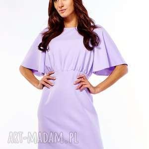 sukienki sukienka z luźną górą diana liliowa 031, komunia