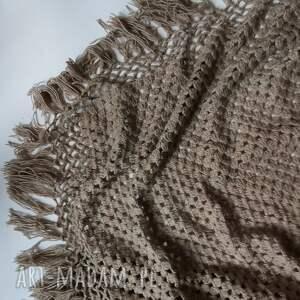 handmade chustki i apaszki duża chusta 180cm na 80,ciepła miła