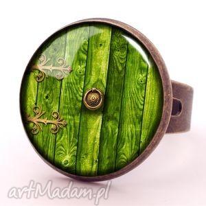hand-made pierścionki hobbit - pierścionek regulowany