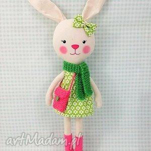 Prezent KRÓLICZKA MARTA, króliczka, zabawka, przytulanka, prezent, niespodzianka