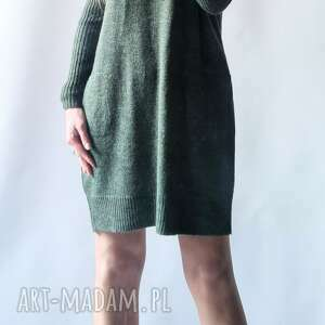 feltrisimi sukienka oversize z kieszeniami, luźna, sukienka, bombka