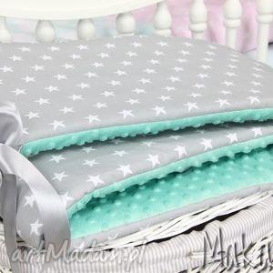 ochraniacz minky do łóżeczka 30x155cm obijacz gwiazdki, ochraniacz