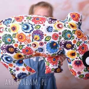 poduszka dziecięca hipopotam, maskotka, dla dziecka