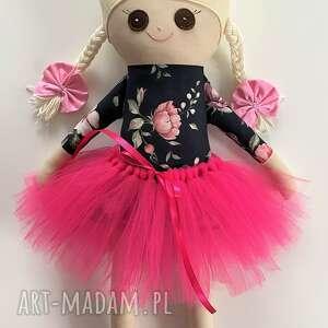 Lalka szmacianka w różyczki lalki fabryqaprzytulanek szmacianka