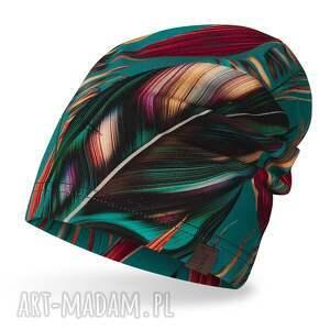 czapka cienka lekka do biegania bawełniana, dresowa, bawełniana