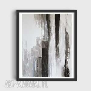 abstrakcja-praca formatu 24/32 cm, abstrakcja, akwarela, papier