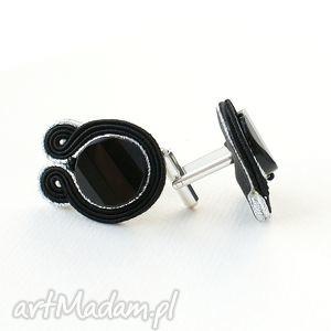 handmade męska czarno-srebrne