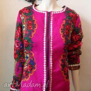 hand-made kurtki folk design- letnia kurtka