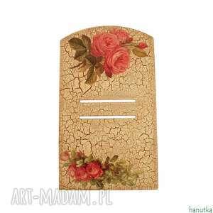 bukiety różowych róż - deseczka pod kalendarz - róża