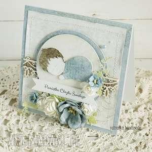scrapbooking kartki pamiątka chrztu świętego, 225, chrzest, chrzciny, kartka