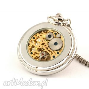 srebrny smok - zegarek