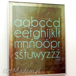 ą ę, dom, abc, plakat, grafika, typography, prezent, świąteczne prezenty
