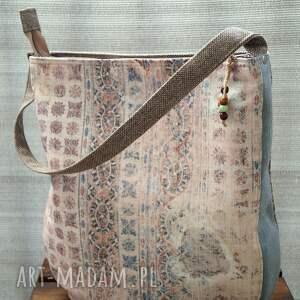 torba na ramię - pastelove, torba, wiosna lato, delikatny wzór, prezent, polski