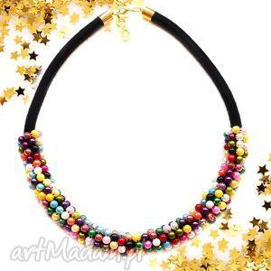 Naszyjnik perłowy Glamorous, perłowy, naszyjnik, kolia, elegancki, retro, vintage