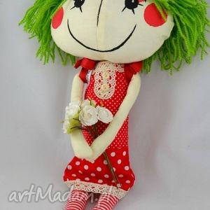 anolinka-szyta lalka z duszą anolina - laleczka, maskotka