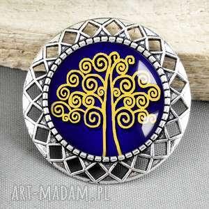 BROSZKA :: Drzewo Szczęścia:: - ,broszka,drzewko,drzewo,prezent,stylowa,srebrna,