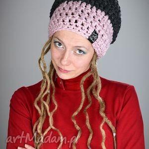 DreadLove Triquence 14, czapka, zima, ciepła, długa, dredy, dready
