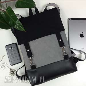 hand-made plecak na laptopa