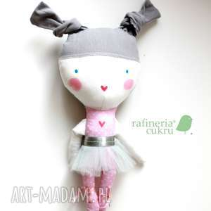 handmade lalki mała baletnica. kieszonkowa laleczka.