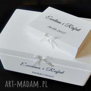 Prezent Komplet ślubny, przechowywanie, pudełkonakoperty, prezentdlaparymłodej
