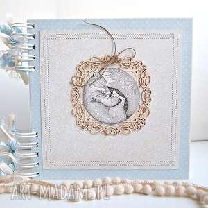 Prezent Album z liskiem, pamiątka, chrzest, lisek, narodziny