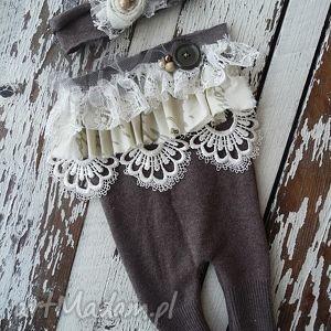maju hand made rampers vintage, ubranka, dziecko, sesja, noworodek, rampers