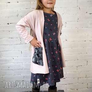 Prezent Sukienka BUTTERFLY, sukienka, dziewczęca, motylki, przedszkole, szkoła