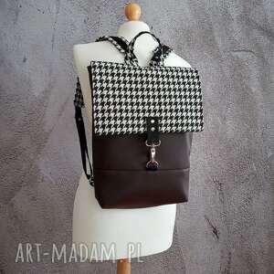 ręcznie wykonane damski plecak