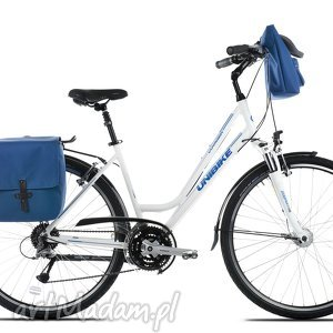 sakwa rowerowa toskania niebieska, rower, torba, praca, zakupy, prezent