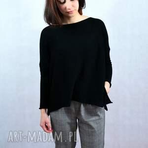 oversize luźny sweter, damski sweter, unikatowy szeroki