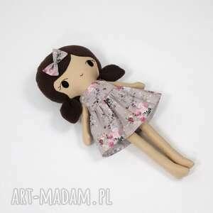 lalka przytulanka klara, 45 cm, lalka, szmacianka, lala ręcznie szyta