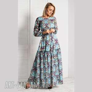 Sukienka delia maxi turkesa sukienki livia clue maxi, długa