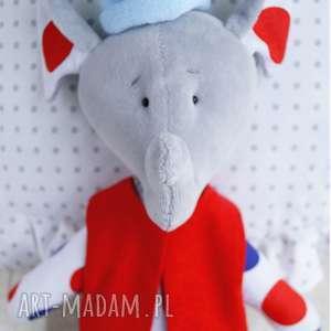 hand-made maskotki słonik maskotka przytulanka