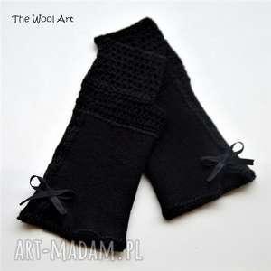 rękawiczki mitenki - rękawiczki, mitenki, na-ręce, na-dlonie, wełniane