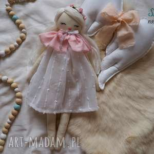 lalka #211, lalka, przytulanka, baletnica, szmacianka, domek dla lalek