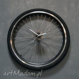 Zegar ścienny tire zegary bikes bazaar zegar, duży, ścienny