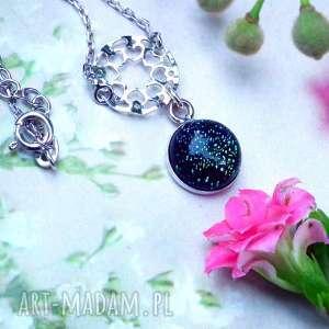 naszyjniki srebrny minimalistyczny naszyjnik na prezent, naszyjnik