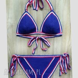 bielizna strój kąpielowy malta, styl boho, bikini szydełkowe, bikini