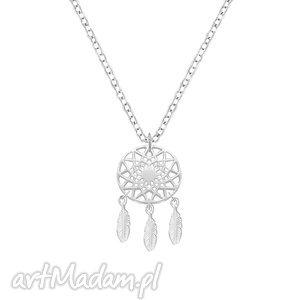 celebrate - dreamcatcher 2 necklace, łapacz, snów, celebrytka, boho