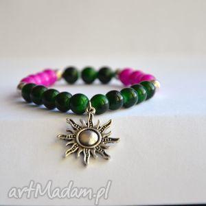 bracelet by sis zawieszka słońce w koralach, charms, słońce, korale, nowość, prezent