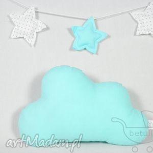 poduszka chmurka turkusowa, poduszka, chmurka, scandi dla dziecka