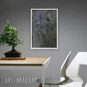 Obraz 50x70cm łupek gwieździsta szarość ovo design dekoracja