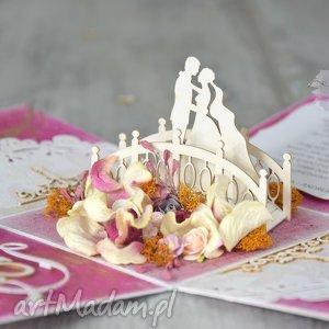 exploding box - dwie sztuki, box, pudełko, ślub, para, tort, życzenia, wyjątkowy