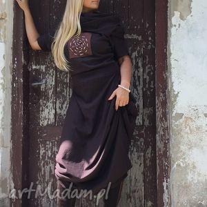 tango bluessss - komin, sukienka, wygodna, tuszująca, elegancka, ekstrawagancka